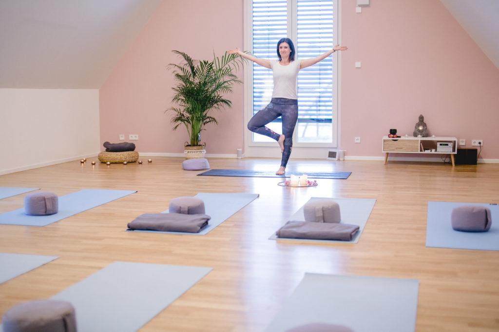 Yogalounge Nicole Veith Walzbachtal   Yoga & ich   Raum-Impression