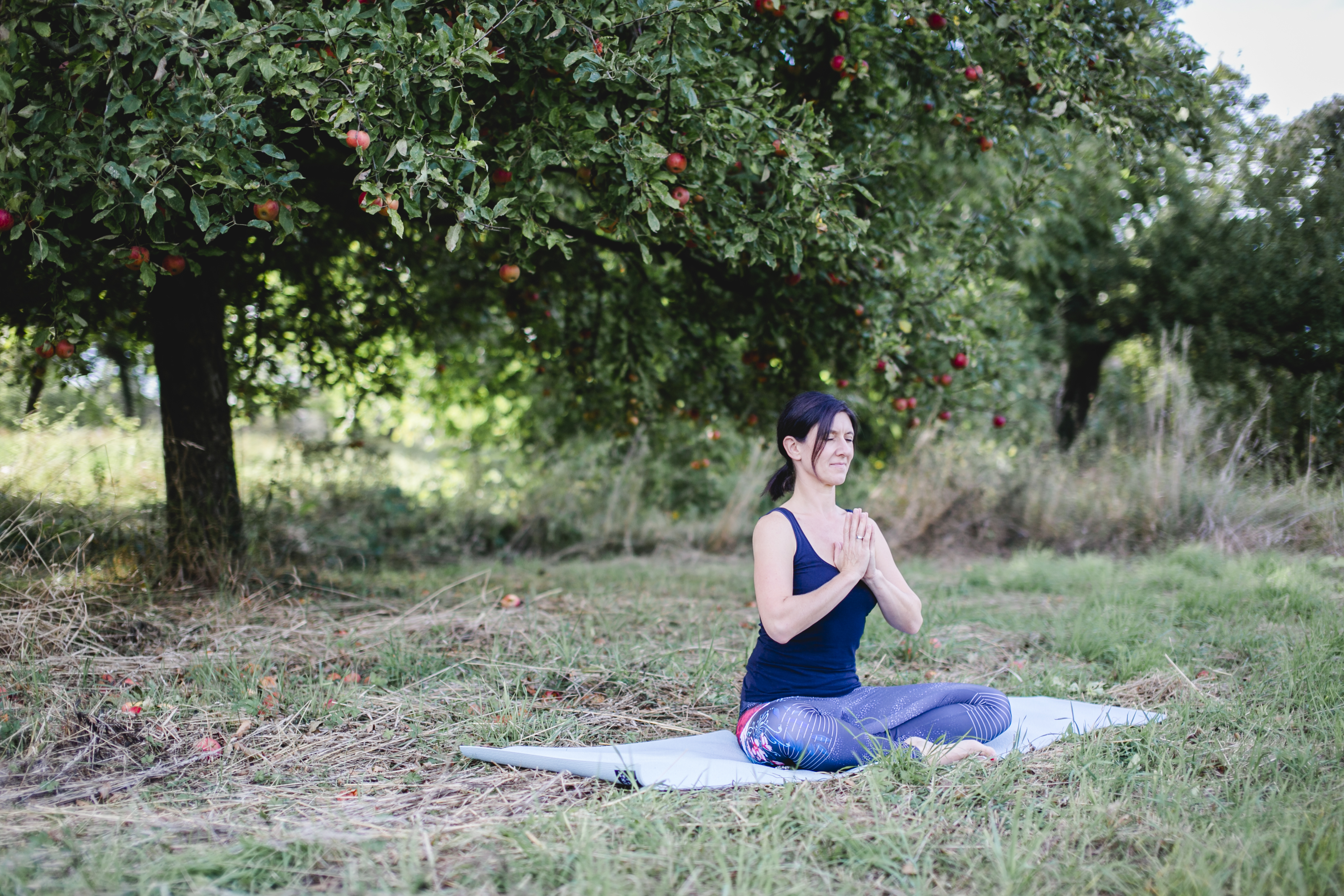Yogalounge Nicole Veith Walzbachtal   Yoga & ich   Yoga Meditation auf der Wiese
